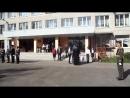 Торжественное вручение школьного знамени. Ям-Тесовская СОШ