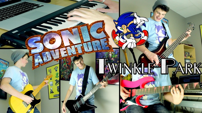 Twinkle Park Pleasure Castle Sonic Adventure Guitar Cover