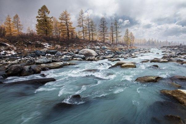 Река Ярлу, Горный Алтай. Автор фото — Станислав Аристов: nat-geo.ru/photo/user/50865/