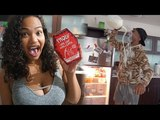 THE DEADLY ONE CHIP CHALLENGE PRANK!! (SHE MAKES A GROWN MAN CRY)