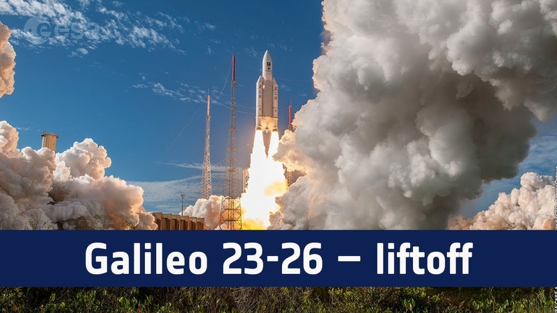 Galileo 23-26 – Liftoff