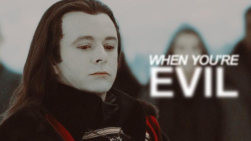 When youre evil ▪ Aro Volturi