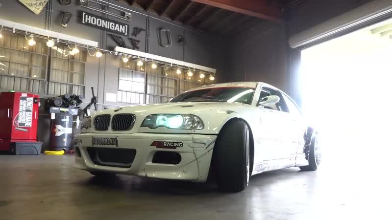 Hoonigan BMW E46 на V8 Тачка для раздачи Короля нашего двора Мика Диаза