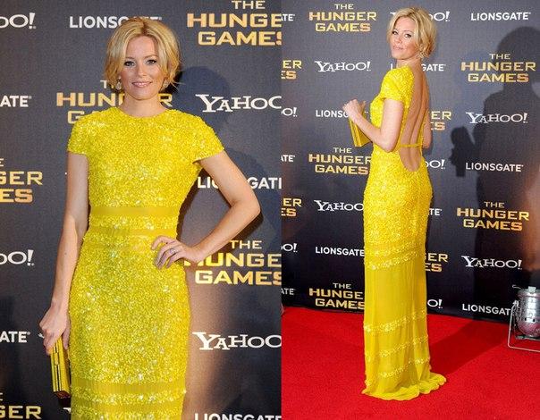 Знаменитости в желтых платьях