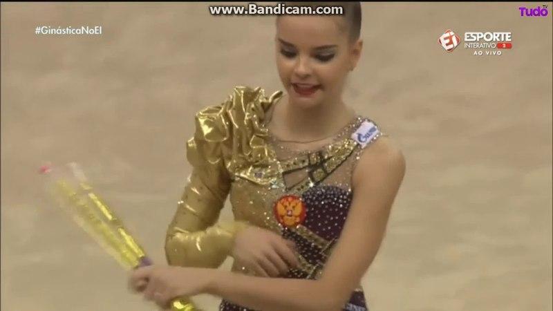 Dina Averina clubs (EF) — World Cup 2018 / Italy, Pesaro
