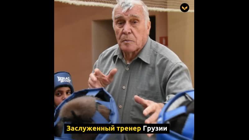 85-летний боксер в Воронежской области тренирует сотню детей за свой счет