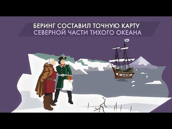 Витус Беринг: экспедиция и открытия. Почему берингов пролив назвали беринговым проливом?
