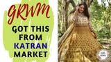GRWM Party Makeup Anarkali From Katran Market Ethnic Look Wedding Series