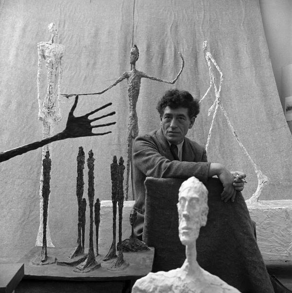 """""""..я не знаю, я работаю , чтобы сделать что-то, или чтобы знать, почему я не могу сделать то, что я хочу сделать."""" Alberto Giacometti"""
