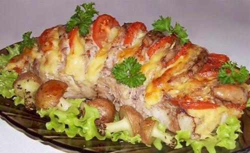 Мясо «Гармошка»