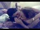 arab two lesbian girls بنتين من مصر نازلين بوس ولعب مع بعض علي السرير