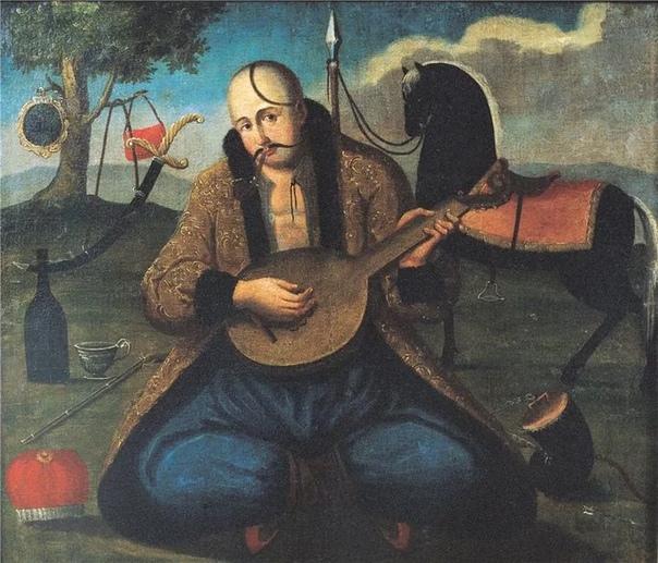 Казак Мамай Казак Мамай (также Казак бандурист, укр. Козак Мамай) один из самых популярных на Украине образов казака-лыцаря (рыцаря), своеобразный идеал «украинской мечты» той эпохи. Впервые