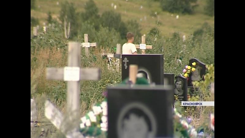На кладбище Бадалык воры крадут оградки, скамейки и могильные камни