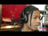 A$AP ROCKY VISITS PAPA KEITH @ 99 JAMZ - WEDR IN MIAMI, FL PT 1