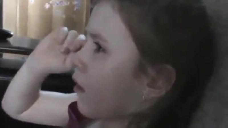 XXII Зимние Олимпийские игры в Сочи. Церемония закрытия. Девочка плачет.