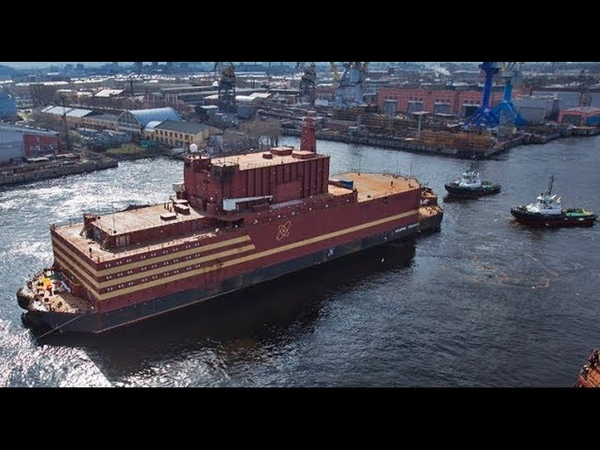 BREAKTHROUGH Floating Russian Nuclear Plants Deliver Energy to Indian Subcontinent