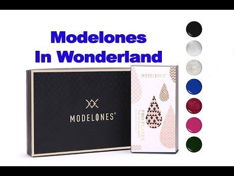 Modelones In Wonderland Collection | Новые гель лаки | Стемпинг