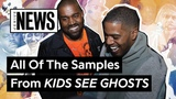 All Of The Samples From Kanye West &amp Kid Cudi's 'KIDS SEE GHOSTS' Genius News