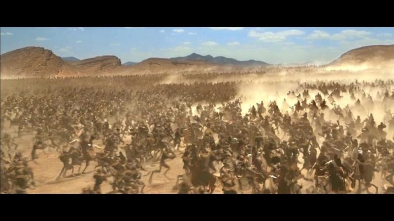 Племена меджаев против армии Анубиса. Имхотеп против Рика Мумия возвращается