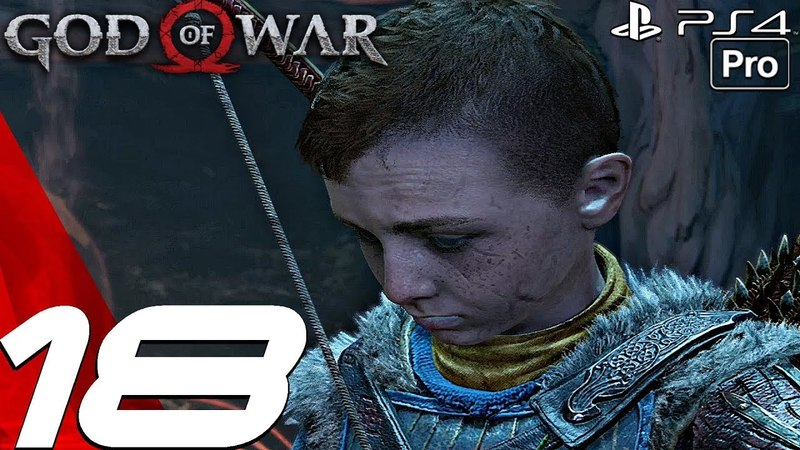GOD OF WAR 4 - Gameplay Walkthrough Part 18 - Black Rune Grendel Boss Fight (PS4 PRO)