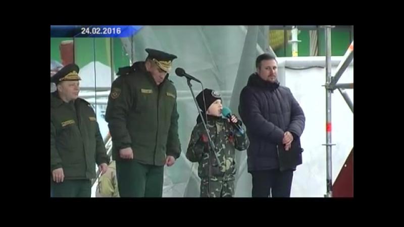 Вручение Боевого знамени подразделению специального назначения «Витязь». Актуаль