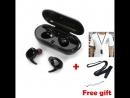 E-XY Capsule Беспроводной СПЦ наушники V5.0 Bluetooth наушники гарнитуры глубокий бас стерео звук спортивные наушники для samsun