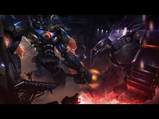 LoL - Music for playing as Mecha Kha'Zix, Malphite and Aatrox