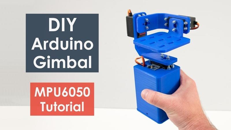 DIY Gimbal Arduino and MPU6050 Tutorial