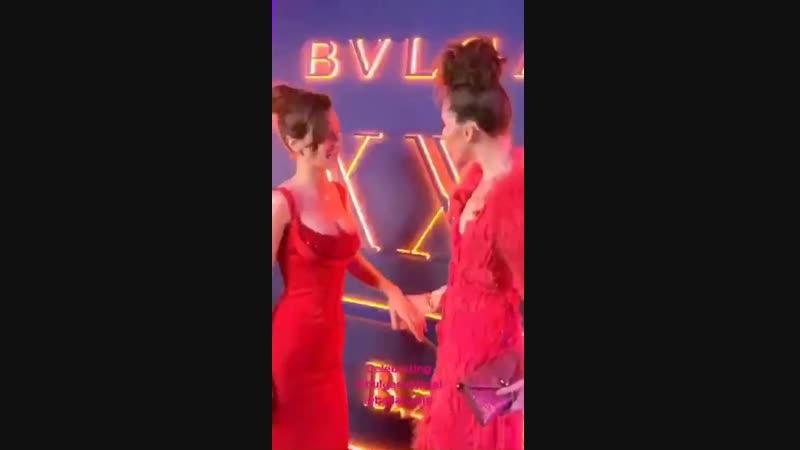Вечеринка бренда «Bvlgari» по случаю двадцатилетия линейки украшений «B.Zero1», Рим (19.02.19)