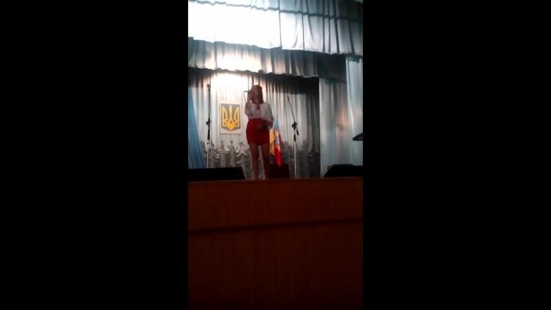 Україна-Вишиванка - Вікторія Чернишова. Тростянецький РДК.