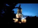 Донской монастырь в Москве, после всенощной