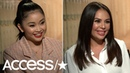 Lana Condor & Janel Parrish Talk Bonding While Playing Sisters In 'To All The Boys I've Loved Before