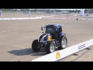 Первый в мире водородный трактор.