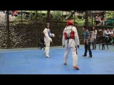 Saint Louis University, Baguio city,Intramurals Taekwondo Event (2013-2014)