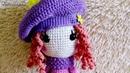 Амигуруми: схема Кукла Сентябринка. Игрушки вязаные крючком - Free crochet patterns.