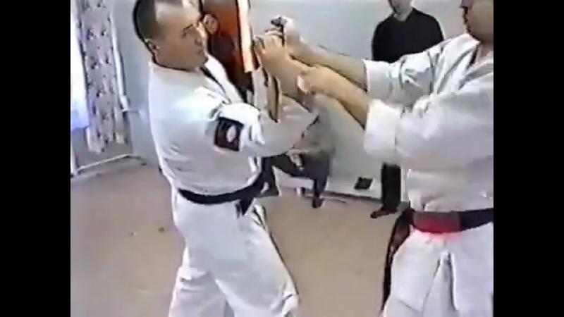 БИЕО Бушинкан Джиу Джитсу.Танто дзюцу.Работа с ножом. (720p)