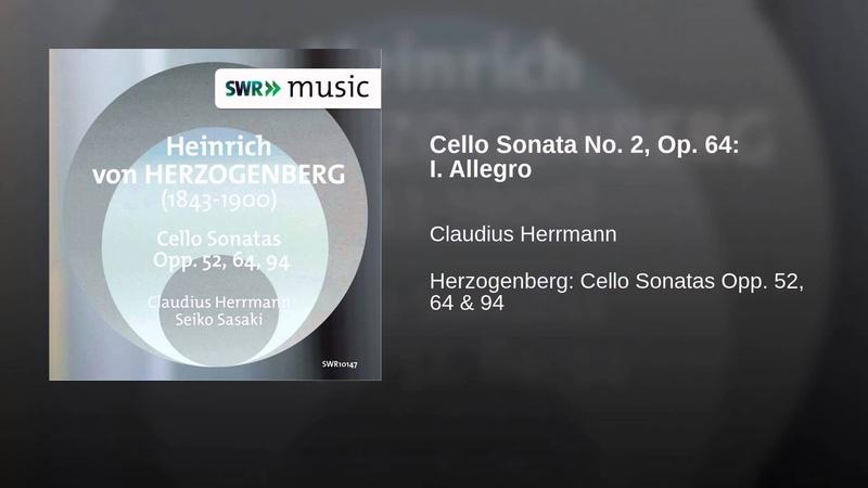 Cello Sonata No. 2, Op. 64: I. Allegro