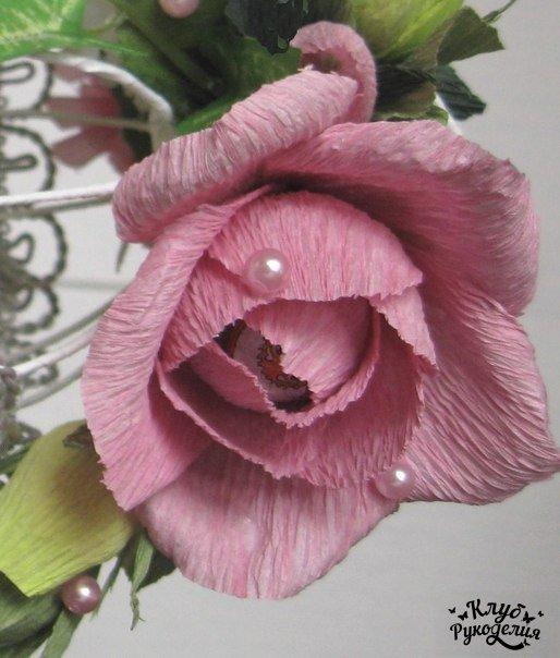 Роза из конфет (8 фото) - картинка