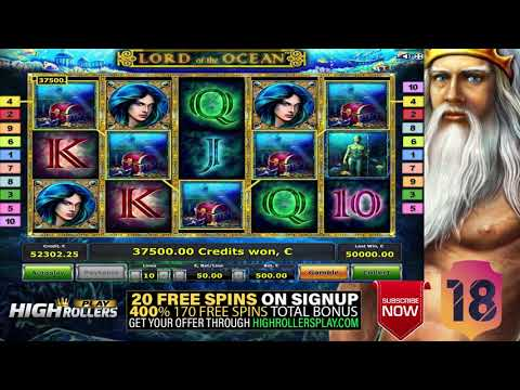 LORD OF THE OCEAN MEGA WIN! Youtube BIG Record! 3 SUPER SPIN ONLINE918KISS