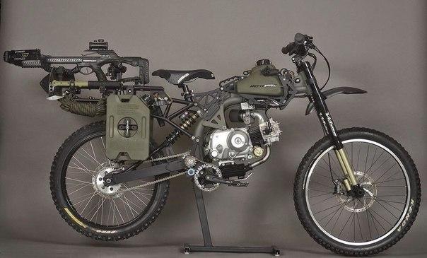Мотопед для зомбиапокалипсиса