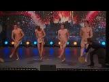 Sweden Got Talent 2009 (Talang sverige)  - Four Guys Dancing Naked [HQ] /w subtitles