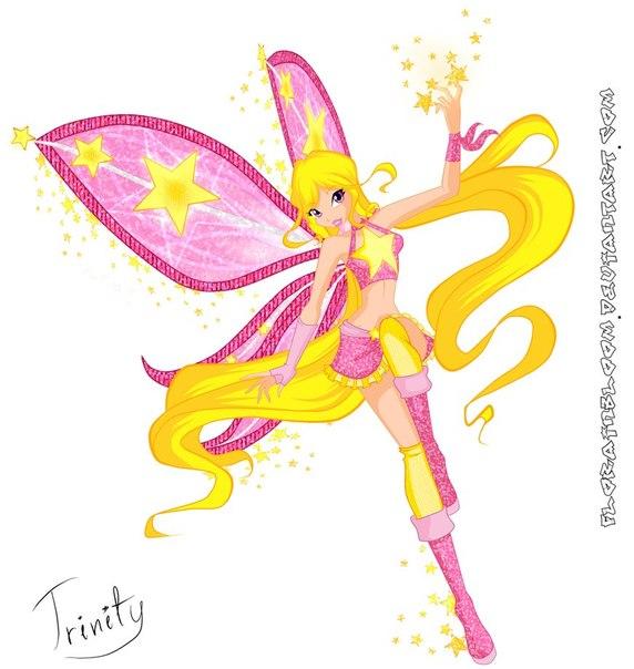 Игра одевалка ангелка и арты winx волшебниц