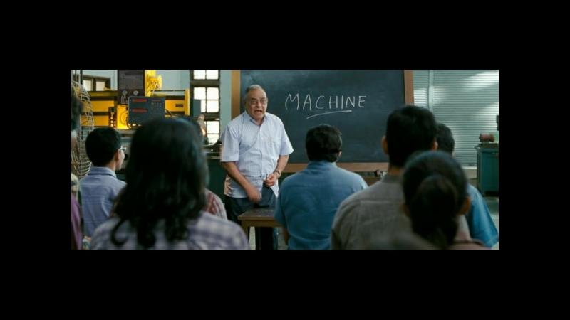 Отрывок из фильма Три идиота _ Когда забыл дома учебники (хорошее настроение, юмор, комедия, образование, суть, важное, просто).