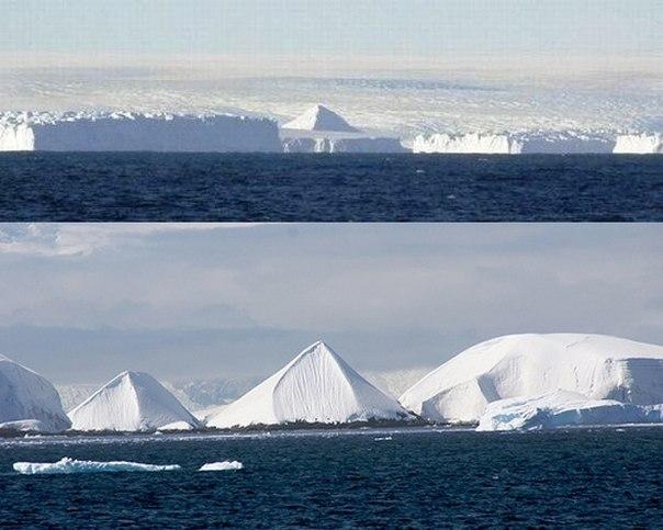 Піраміди в Антарктиді