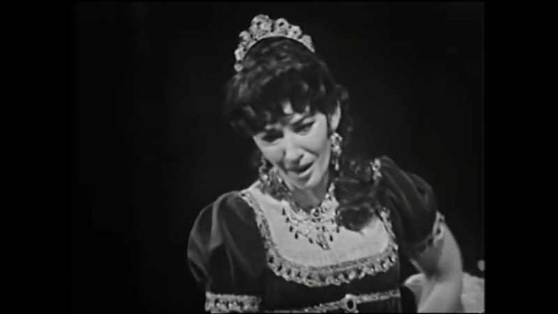 Maria Callas - G. Puccini. Tosca - Vissi darte at Covent Garden (1964)