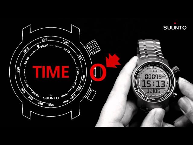 Отключение (спящий режим) часов Suunto Elementum