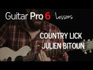 Country Lick by Julien Bitoun - Guitar Pro