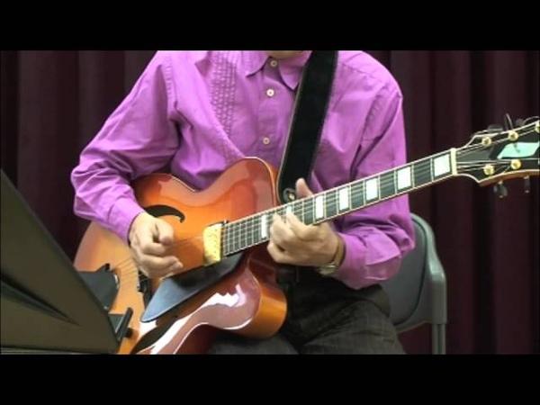 TN Jazz Guitar School 13 - Sunny (Fast Funk) 中村たかし
