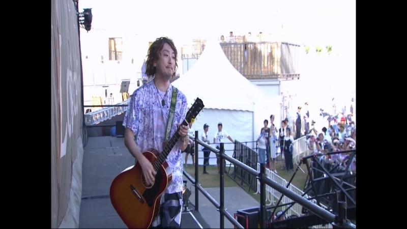 Kaze ga Fuite Iru Joyful ROCK IN JAPAN FES DAY 2 07 08 2016