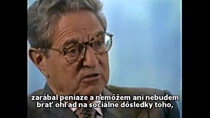 Je Soros schizofrenik, alebo iba obyčajný kretén